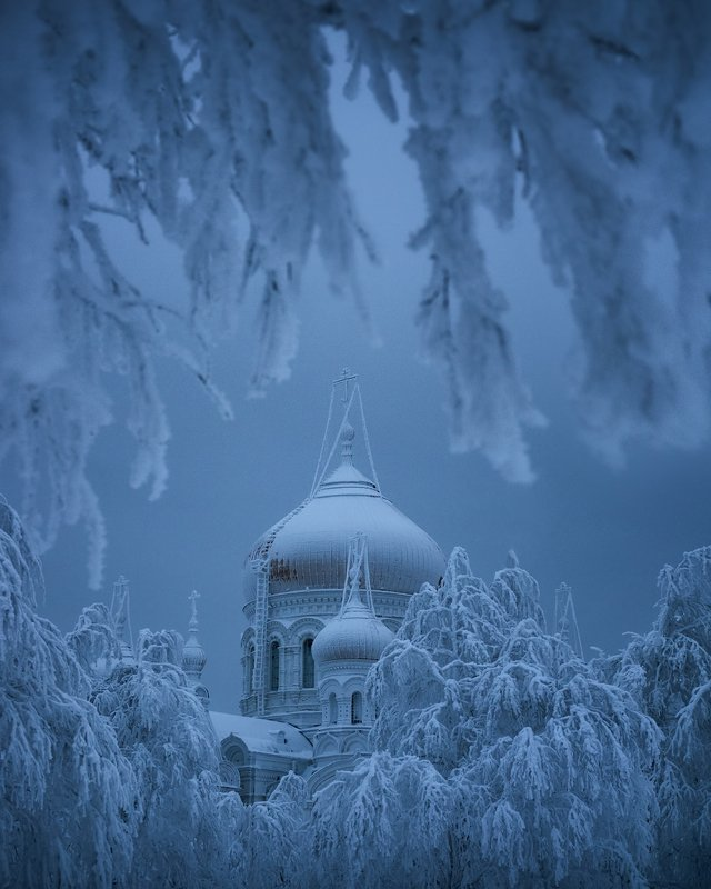 пермь, белая гора, На ледяной гореphoto preview
