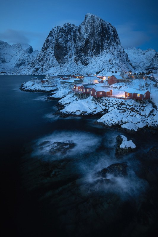 lofoten,norway,winter Night over Lofotenphoto preview