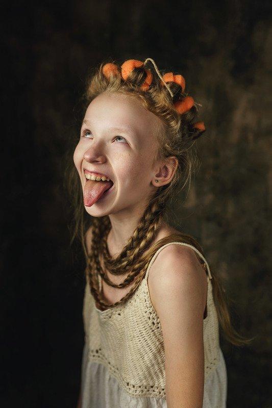 portret, grange, girl, kid Grangephoto preview