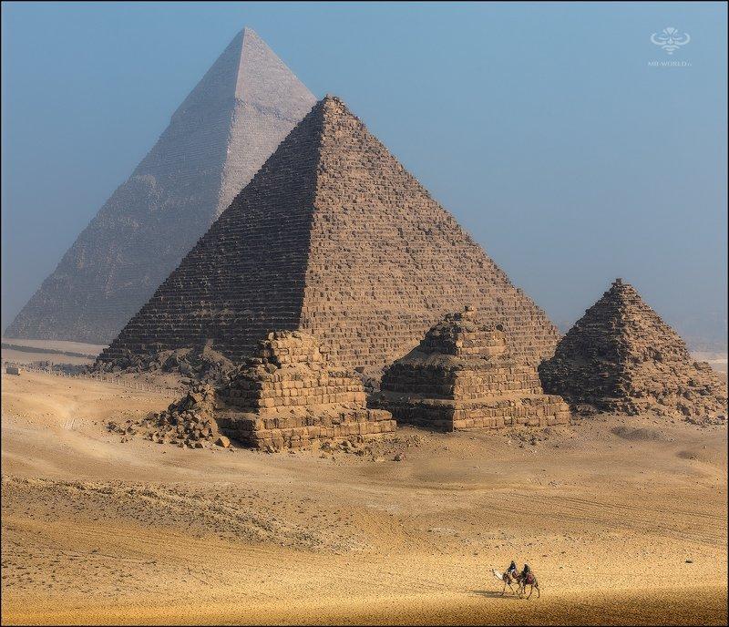 Египет, пирамиды, гиза Великие пирамиды Гизыphoto preview