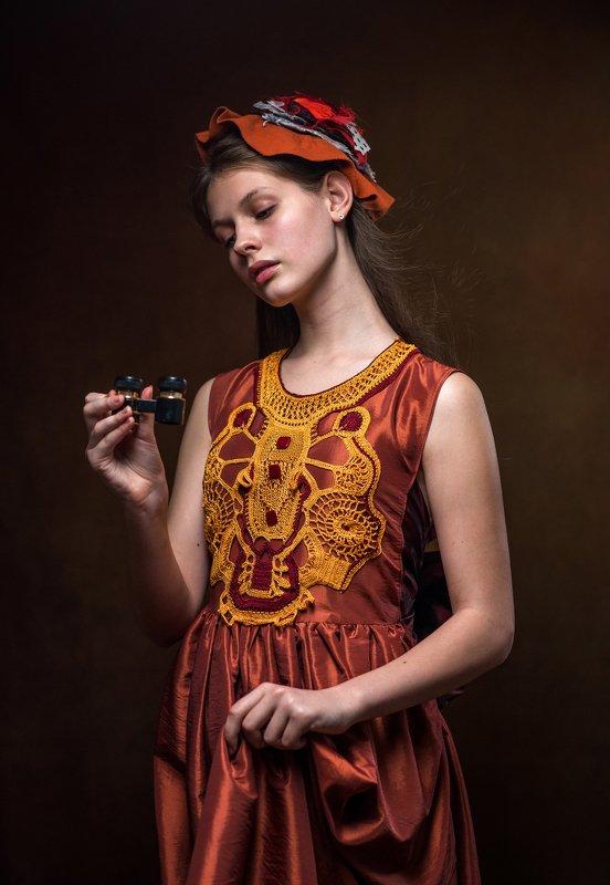 фотокартина, женскийпортрет, жанровый портрет, художественный портрет Полианнаphoto preview