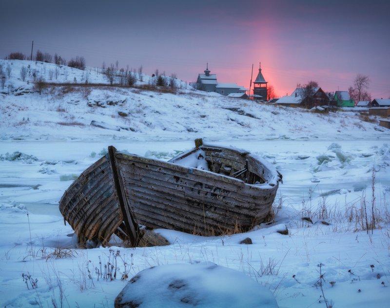 белое море, поморье Русский Север.photo preview