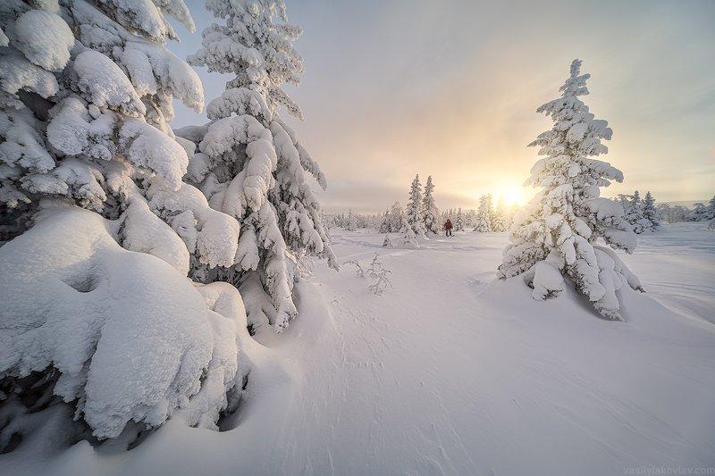 гух, фототур, урал, зима, россия, горы, снег, василийяковлев, яковлевфототур Главный Уральский Хребетphoto preview