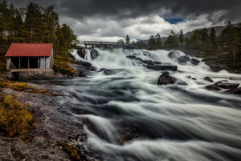 водопад, река потокиphoto preview