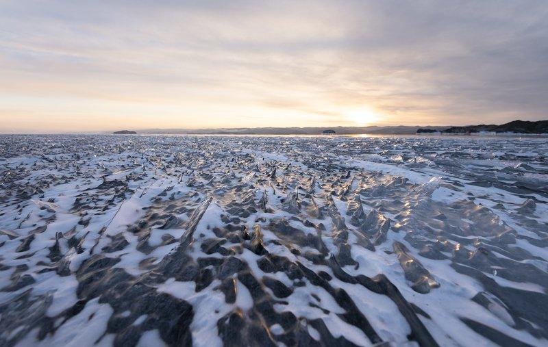 Байкал, лед Лед Байкалаphoto preview