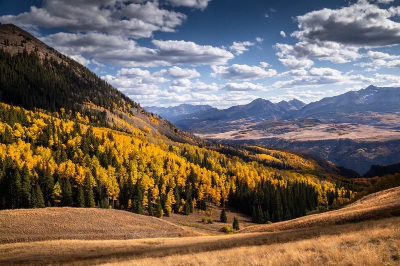 autumn, fall, colorado, usa, осень, горы An Autumn in Coloradophoto preview