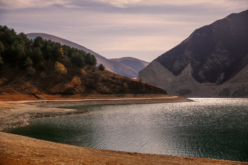 озеро,казеной,чечня,дагестан,горы,кавказ,северный кавказ, Казеной Ам..photo preview