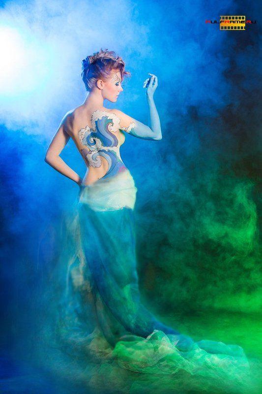 топлесс, стихии, боди-арт, креатив, проект, студия СТИХИИИphoto preview