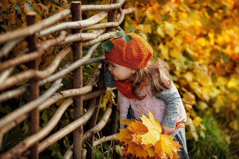Саша и осень