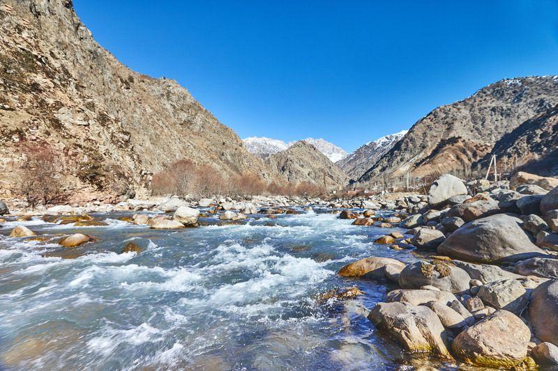 Солнце, Водух и Вода…. Январь. Хушьери(Гушары). Таджикистан