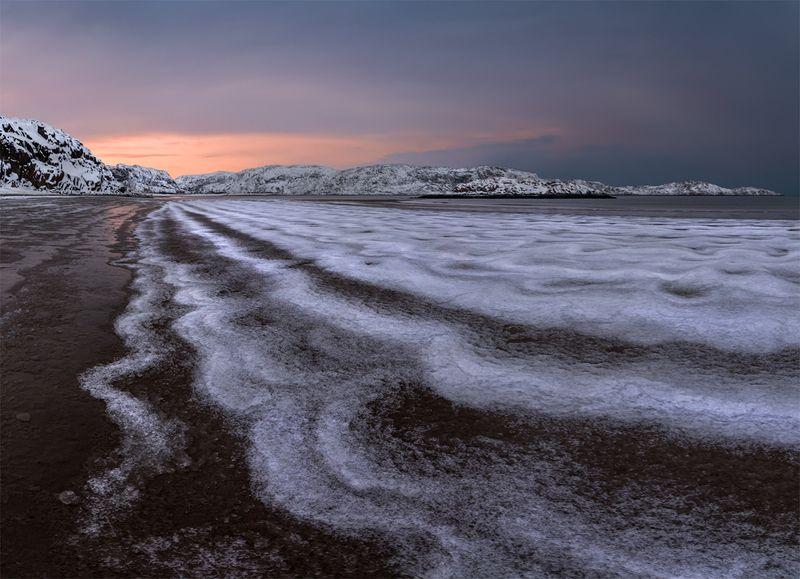 природа, пейзаж, север, кольский, панорама, природа россии, дикая природа, закат, свет, облака, вечер, тундра Отливphoto preview