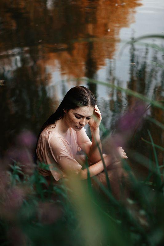 фото, девушка, портрет, озеро, photo, woman, portrait, canon Юляphoto preview