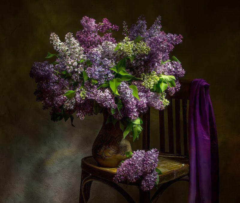 натюрморт, сирень, весна Аромат весны... фото превью