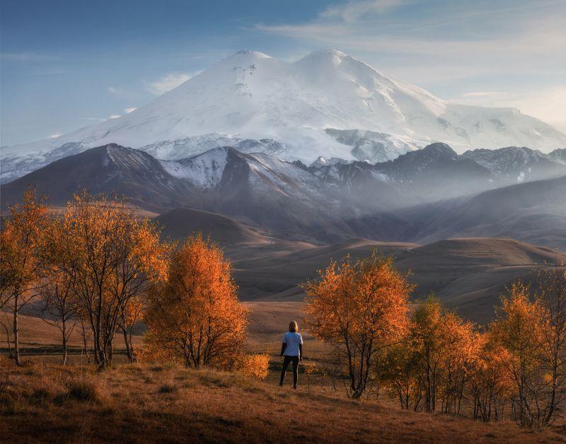 кавказ, приэльбрусье Осень в Приэльбрусье.photo preview