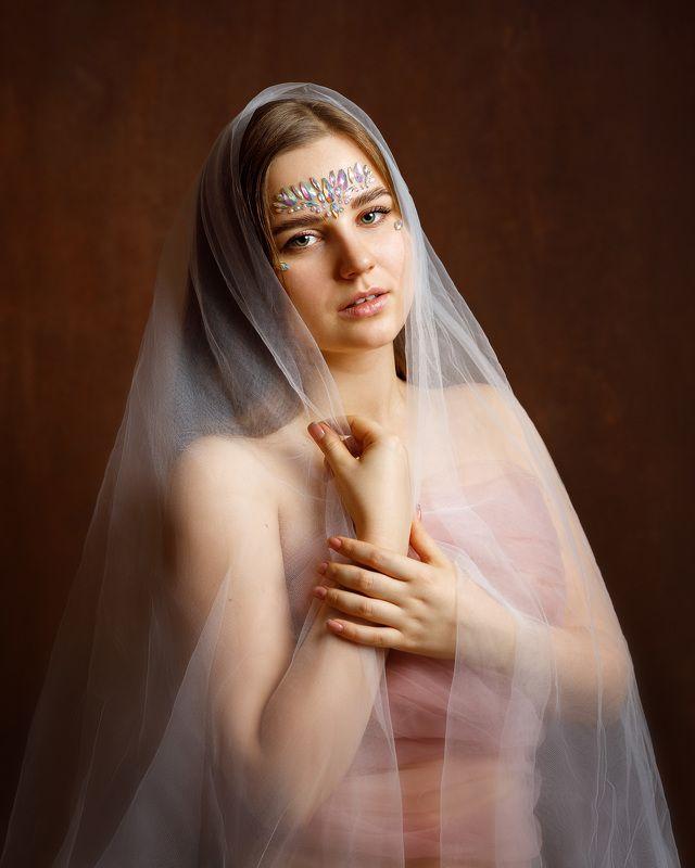 девушка взгляд портрет студия Anastasiaphoto preview
