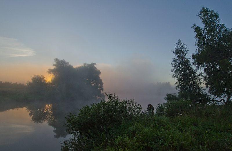 утро, рассвет, большие байдики Время летнего пейзажаphoto preview