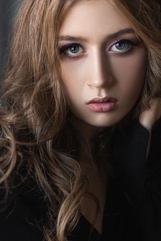 девушка, модель, портрет, фотосессия, студия, макияж, гламур, girl, beauty, perfect, pretty, model, modeling, young, portrait, make-up, творческий портрет, женский портрет, woman, young woman, glamour Настяphoto preview