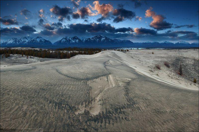 Чара, Чарские пески ВЕЧЕР  В  ПЕСКАХphoto preview
