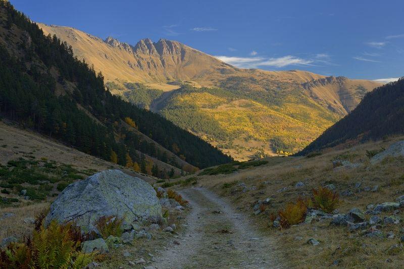 горы осень азгек Осенний Азгекphoto preview