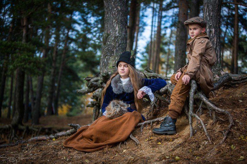 Юные охотникиphoto preview