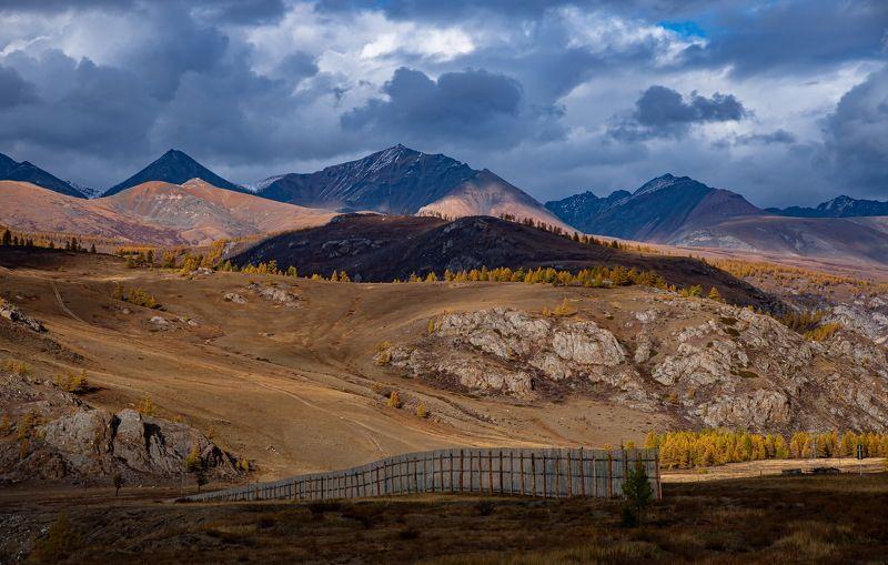 алтай. осень. горы. Осень В Горном Алтаеphoto preview