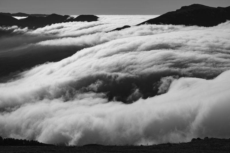 Крым, Демерджи, облака, горы Горы облаковphoto preview