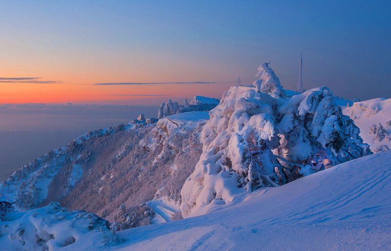 крым, ялта, зубцы ай-петри, ай-петри, море, черное море,пейзажи крыма, фотограф ялта, зима, снег, зима на ай-петри Зима на Ай-Петриphoto preview