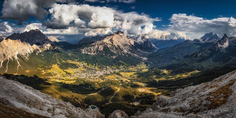 горы, панорама у краяphoto preview