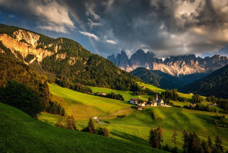 горы, долина моментphoto preview