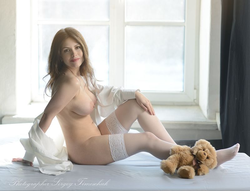 девушка спб Морозным февральским днём)photo preview
