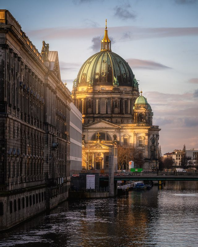 Berlin, Sunrise, Colorful, Moody, Architecture, City, Long Exposure Berlinphoto preview