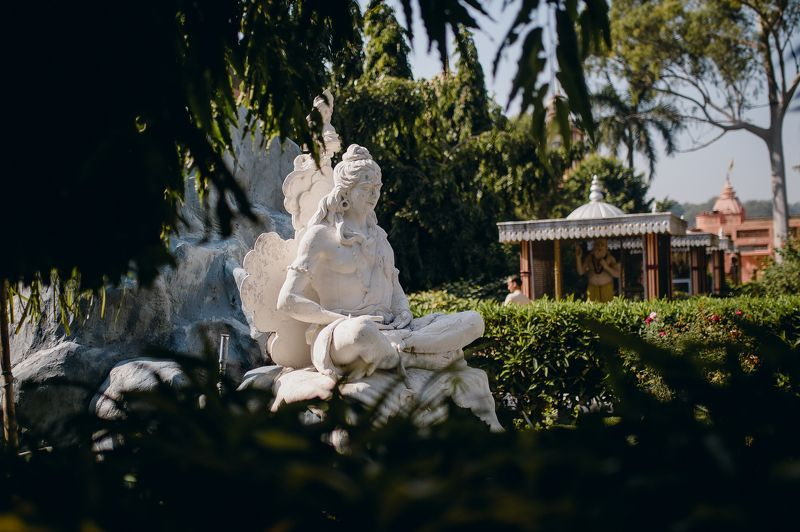 india sculpture shiva cultural Shiva sculpture in Rishikesh Ashramphoto preview