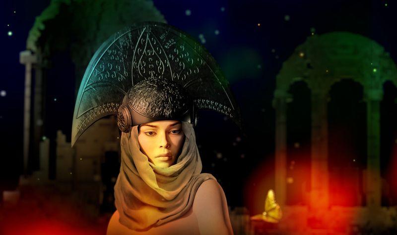 kirilin,vladimir,владимир кирилин,volf, варвара, варвара илиопольская Варвара / 3D-artphoto preview