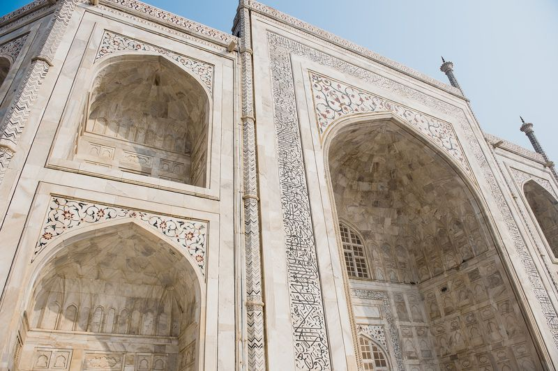 landscape temple India architecture mausoleum  Great Tajphoto preview