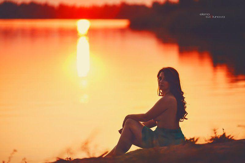 Девушка, Река, Фотосессия GalAphoto preview