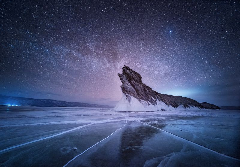 Млечный путь над Огоемphoto preview