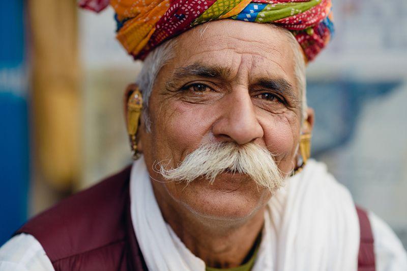 mustaches India portrait man Mustache Manphoto preview