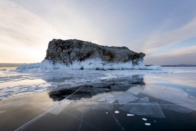 Байкал, лед photo preview