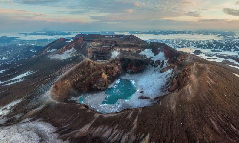 камчатка Камчатка. Кратер вулкана Горелый.photo preview