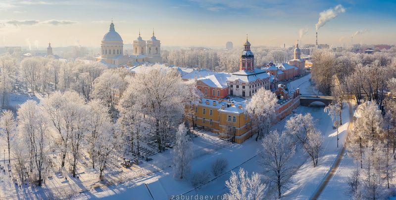 россия, зима, снег, дрон, питер, петербург ***photo preview