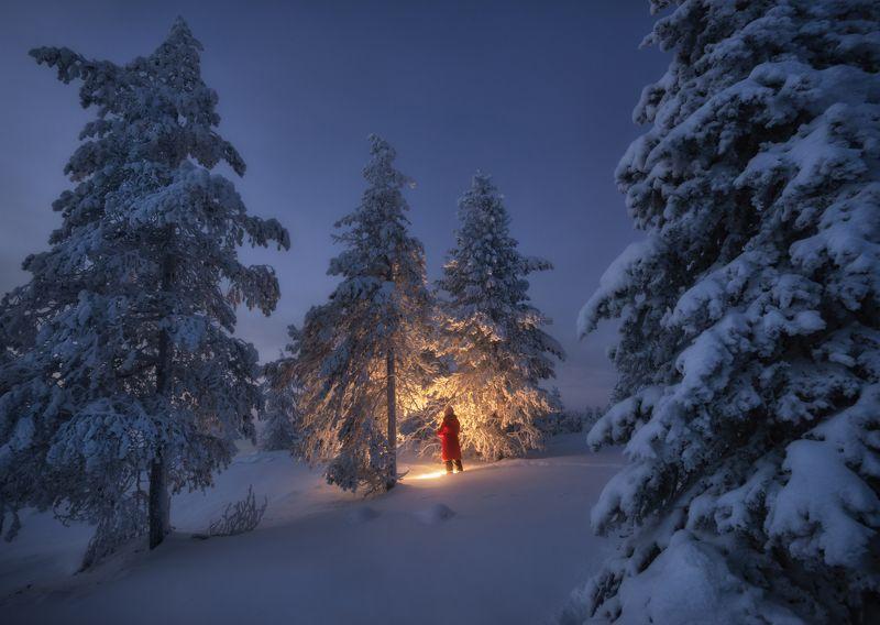кольский Зимнее настроение.photo preview