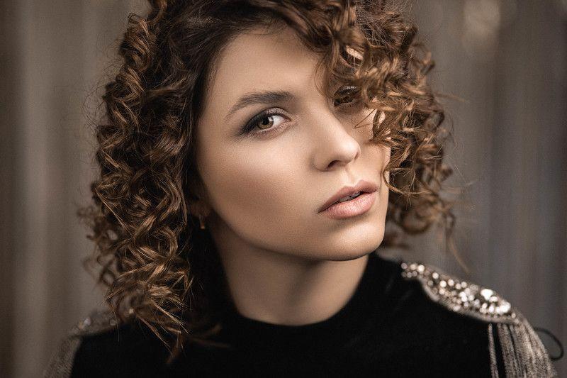 девушка, модель, портрет, фотосессия, студия, макияж, гламур, girl, beauty, perfect, pretty, model, modeling, young, portrait, make-up, творческий портрет, женский портрет, woman, young woman, glamour Сашаphoto preview
