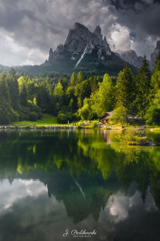 mountains, dolomites, travel, alps Summer afternoonphoto preview
