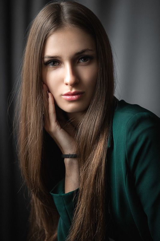 девушка, модель, портрет, фотосессия, студия, макияж, гламур, girl, beauty, perfect, pretty, model, modeling, young, portrait, make-up, творческий портрет, женский портрет, woman, young woman, glamour Юлияphoto preview
