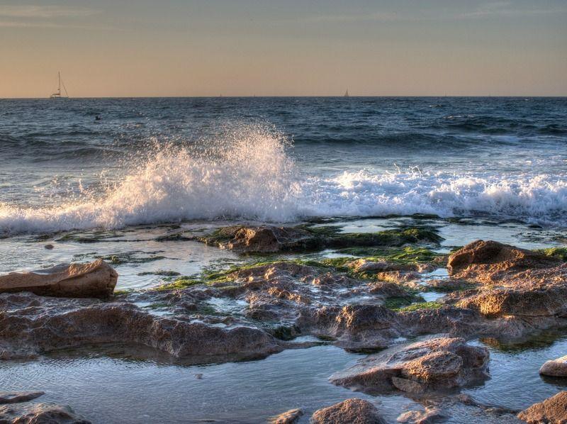 Закат на Средиземном мореphoto preview