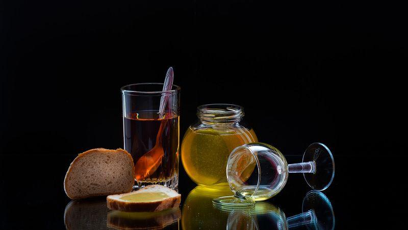 натюрморт. фотография, красота, спб, Чай с мёдом.photo preview