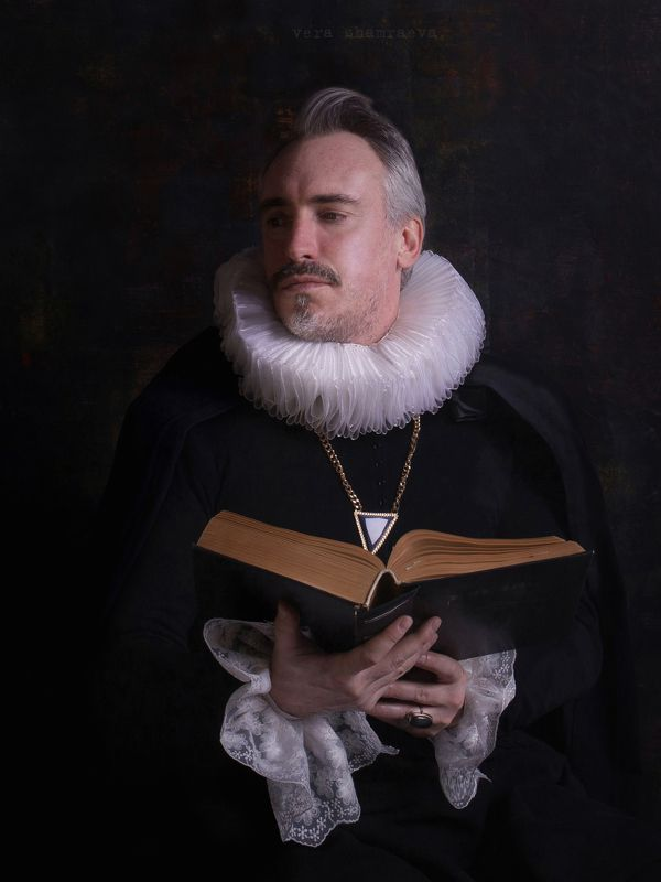 мужской портрет постановка вера шамраева ***photo preview