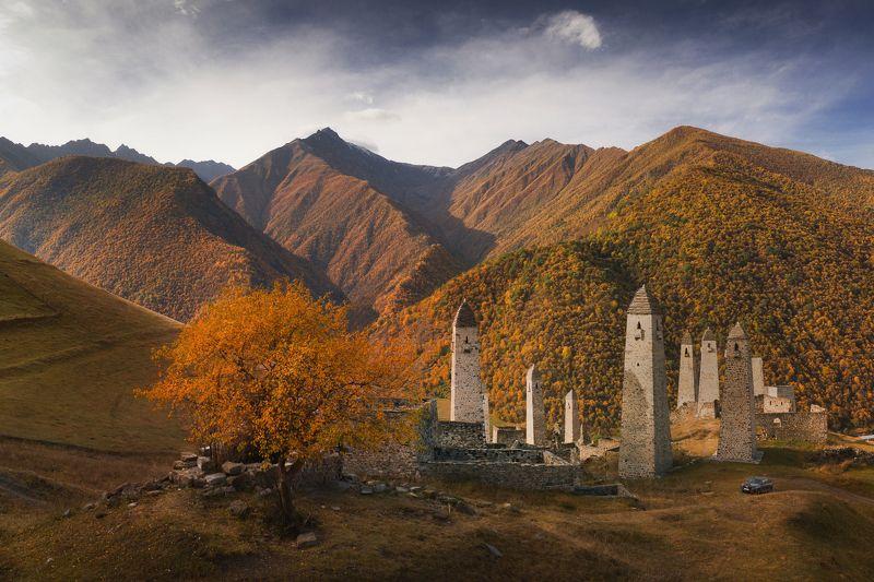 Ингушетия, Кавказ Башни Ингушетииphoto preview