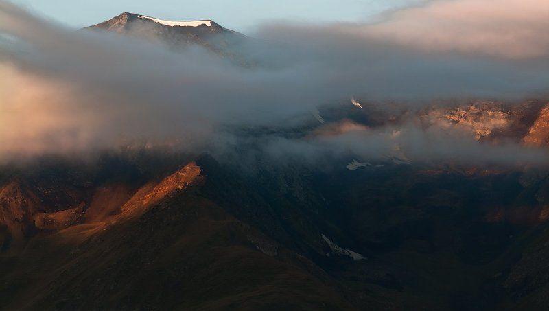 Рассвет над Богосским хребтом.photo preview