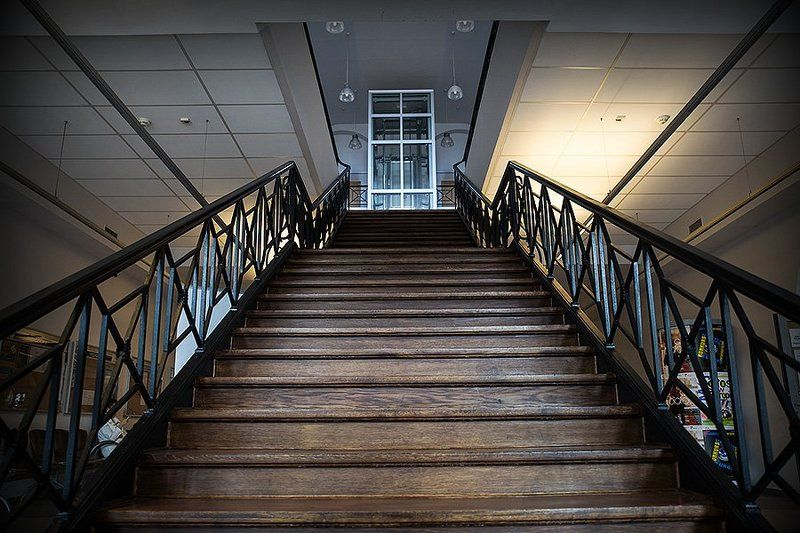 stairs to liftphoto preview
